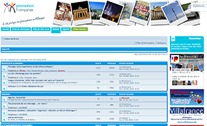 Screenshot du forum de connexion-francaise.com